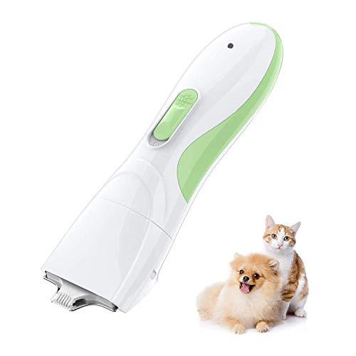 TR Turn Raise Schermaschine für Katze und Hund, Hunderasierer mit Wenig Lärm Geringe Vibration für Pfoten Gesicht Augen