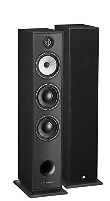 Borea BR08 Triangle Floor Standing Speaker Black from TRIANGLE