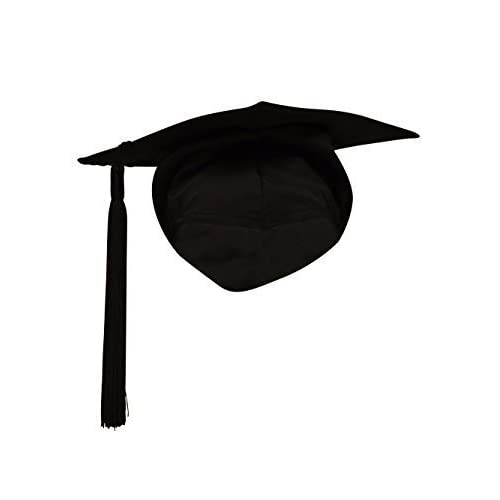ff14ff14fe69 Ashington Gowns Elasticated Mortarboard with Tassel