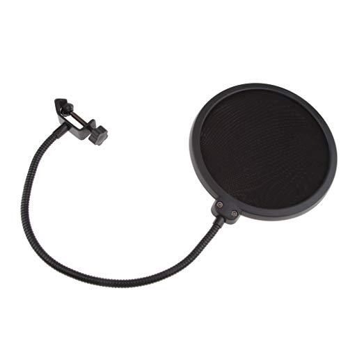 SDENSHI Großer Doppelschicht Mikrofon Stativnetz Windschutzscheibenfilter