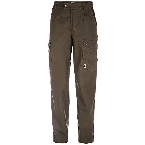 Zeckprotec outdoorbroek Oliv heren, maat 48 broek met anti-teken functie.