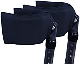 Crutcheze Forearm Crutch Pads - Covers for Arm Cuffs USA Made - Breathable, Ultimate Cushion, Moisture Wicking, Antibacterial - Washable Forearm Crutches Accessories