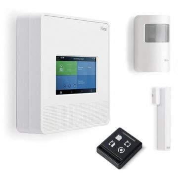 Eci Elettroforniture Promo - Kit de alarma My Nice W7001TC central teclado táctil sistema antirrobo WiFi para casa