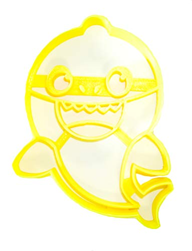 BABY SHARK CHILDREN SONG VIRAL SOCIAL MEDIA VIDEO SPECIAL OCCASION COOKIE CUTTER BAKING TOOL 3D PRINTED MADE IN USA PR995