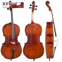 D ZZStrad Cello modelo 150 hecho a mano 4/4 tamaño completo hecho a mano por premios luthiers, 3/4-size