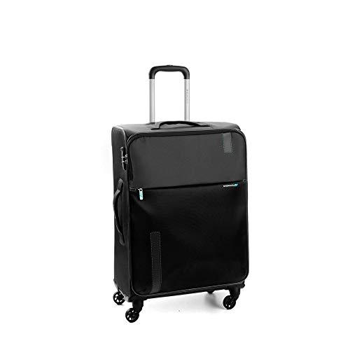 Roncato Maleta Mediana M Blanda Speed - cm 67 x 44 x 27/31 Capacidad 74/78 L, Extensible, Organización Interna, Cierre TSA, Garantìa 2 años