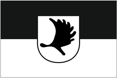 Autoaufkleber Sticker Fahne Ostpreußen Elchschaufel Flagge Aufkleber