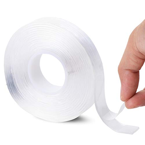 Mr. Pen- Double Sided Tape, 0.7 Inch, Transparent, Double Sided Tape for Walls, Double Sided Adhesive Tape, Mounting Tape, Adhesive Tape, Two Sided Tape, Double Stick Tape, Double Face Tape