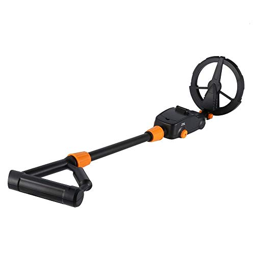 Tivivose. Aggiornamento Metal Detector Pinpointer MD-1008 Gold Treasure Hunter GP-Pointerii Pinpointing Gold Digger Impermeabile (Color : Black)
