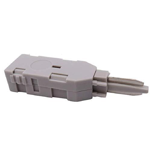SONOVO 10 unids/lote 110 cabezal de prueba RJ11 conector de voz MDF probador de cable de red comprobar teléfono Krone módulo de voz Panel de conexión de telecomunicaciones