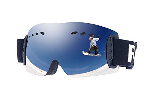 RAVS by Alpland skibril bergbril gletsjerbril frameloos dubbel glas contrastversterkt