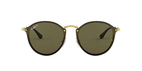 Ray-Ban Junior Unisex-Erwachsene 0rb3574n 001/9a 59 Brillengestelle, Gold (Gold/Darkgreenpolar)