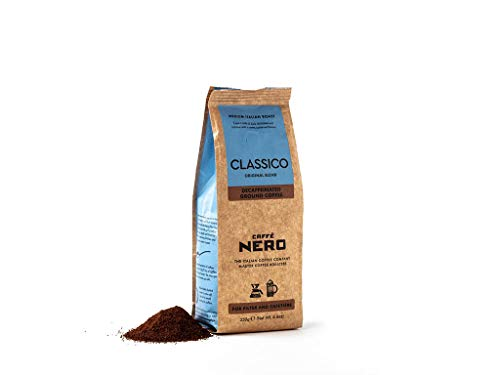 Caffè Nero Classico Decaf Ground Coffee 250g (Pack of 6)
