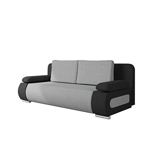 Mirjan24 Schlafsofa Emma, Sofa mit Bettkasten und Schlaffunktion, freistehendes Bettfofa, Couchgarnitur, Schlafcouch, Couch vom Hersteller (Porto 36 + Porto 31)
