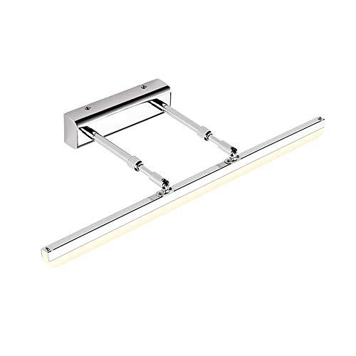Dhl Warme spiegel voorlicht LED badkamer kledingwinkel kapper spiegel kaptafel retractable roterende licht