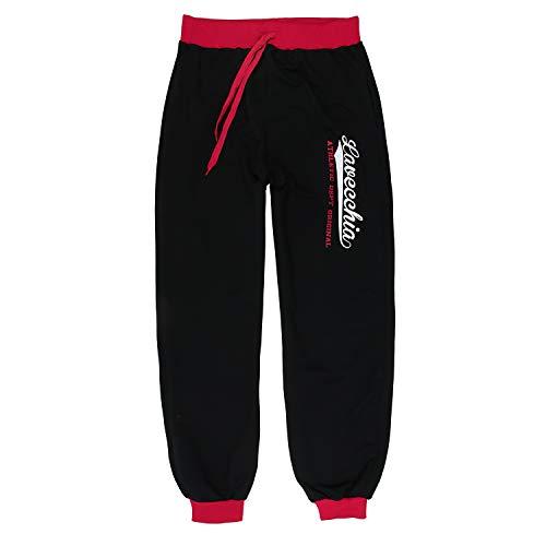 LV 2020 Black-Red Übergröße Lavecchia Jogginghose/ Sporthose Gr. 3-8 XL (7XL)