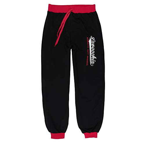 LV 2020 Black-Red Übergröße Lavecchia Jogginghose/ Sporthose Gr. 3-8 XL (4XL)