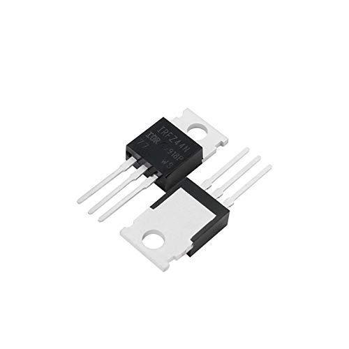 Jgzwlkj Transistoren 10pcs / Set IRFZ44N TO220 Transistor Kit IRFZ44 TO220 Hochleistungstransistoren IRFZ44NPBF 49A 55V-Feldeffekttransistor