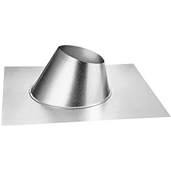 Amazon Com Dura Vent Woodburning Chimney 8 Inch Roof Flashing Pitch 13 12 18 12 Home Improvement