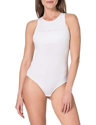 Emporio Armani 164424 1P223 00010 Chaleco Moderno, Blanco, M para Mujer