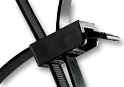 SPEEDY TIE, BLACK-Kabelbinder, SpeedyTie, lösbar, Nylon 6.6 (Polyamid 6.6), Schwarz, 750 mm, 13 mm, 210 mm, 888 N