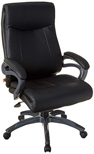 Boss Office Products Double Layer Executive Chair in Black