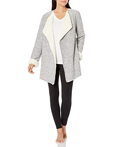 UGG Women's Abriana Shawl Cardigan, Grey Heather, L