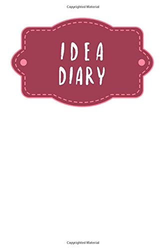 [画像:Idea diary: Dotted notebook for your ideas, sketches and mind maps | Design: Black Flower]