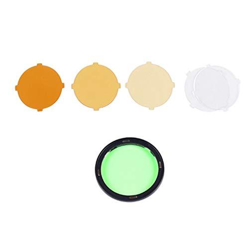 Godox AK-R16 filtros de Color, Compatible con Godox H200R Cabezal de Flash Redondo, Godox V1 Flash Series, V1-S, V1-N, V1-C, AD200 Pro, AD200