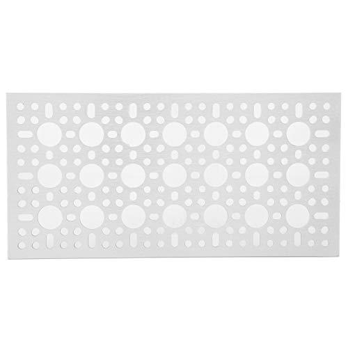 Gaaspaneel Weergavepatroon Openingsplaat, 3123‑0096‑0192 Rasterwand Wandbediening Industriële bedieningscomponenten