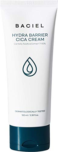 [BACIEL] Hydra Barrier Cica Cream - Centella Asistica   Hydrating   Calming   Ceramide   Hyaluronic Acids   Cica Cream   Niacinamide   Face Moisturizer   Daily Moisturizing 100ml 3.38 fl.oz
