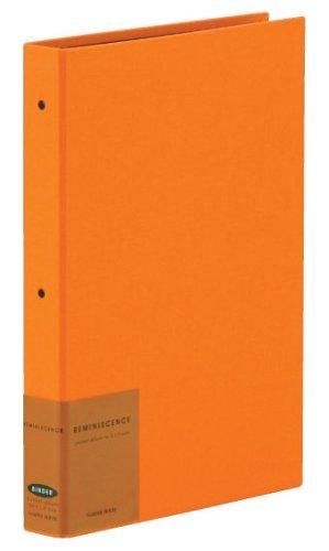 SEKISEI アルバム ポケット ハーパーハウス レミニッセンス バインダータイプ L120枚収容 L 201~300枚 布 オレンジ XP-2102