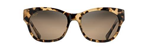 Maui Jim - Gafas de sol - para mujer dorado Honey Havana with Yellow Gold Monstera