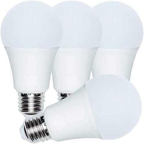 A21 LED Bulbs, (Equivalent 150-200W) 20W, 2200Lm, 3000K Warm White(4 Pack)