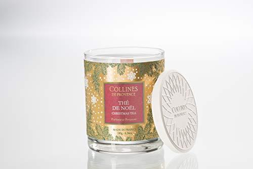 Collines de Provence Candela 180g tè di Natale