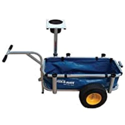 Anglers Fish-N-Mate Jr. 129 Heavy Duty Vinyl Cart Liner, Blue Finish (Cart Sold Separately)