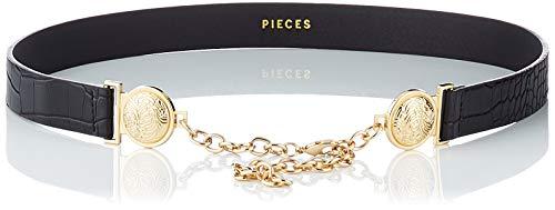 PIECES Damen PCROSINE Waist Belt Gürtel, Black, 75