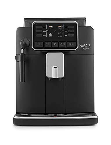 Gaggia Cadorna Style Macchina da Caffè Automatica per Espresso e Cappuccino, Caffè in Grani o Macinato, RI9600/01