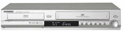 Samsung DVD-VR 330 VHS-/DVD-Rekorder Silber