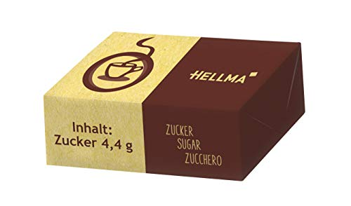 HELLMA Würfelzucker nachhaltig - 2000 Stück