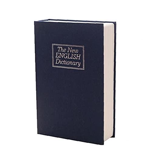 Jorzer Secreto Safe Home Book Caja Fuerte Con La Combinación Lock Home Dictionarigo Diversión Metal Caja De Bloqueo Caja De Bloqueo Creativo Blue La Caja Fuerte