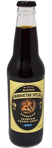 Manhattan Special - Diet - Espresso Premium Coffee Soda - 12 oz (24 Glass Bottles)