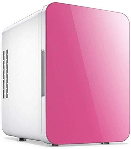 XWYSSH Veranstalter Autocooler Heizung und Klimaanlage Kleiner Kühlschrank Mini-Kühlschrank Reise Kühlschrank Kühlschrank for Privatanwender Dorm Muttermilch (Farbe : Rosa)