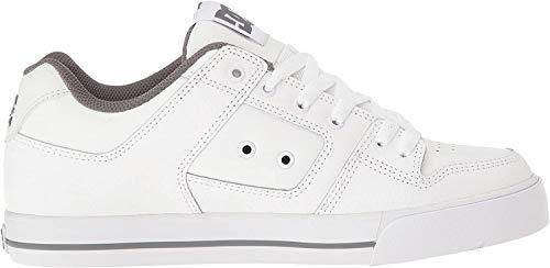 DC Shoes PURE SHOE D0300660, Herren, Sneaker, Weiss (HBWD WT/BTSH/WT), EU 47 (UK 12) (US 13)