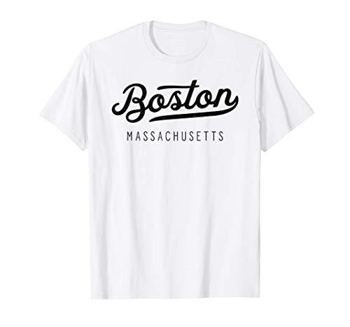 Classic Retro Vintage Boston Massachusetts USA Gift T-Shirt