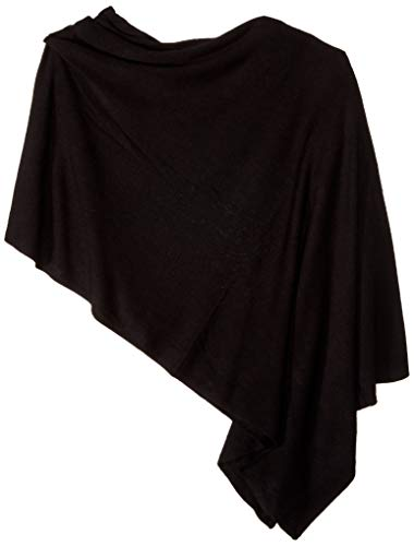 Tribal Women's Poncho Scarf 1, black, OS