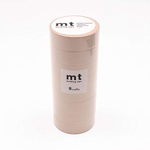 mt マスキングテープ 8P パステルブラウン MT08P311