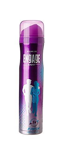 Glamorous Hub Sport desodorante en spray fresco para mujer, 110 g / 165 ml