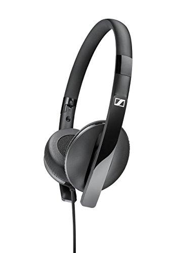 Sennheiser 506718 HD2.20s On-Ear-Kopfhörer (mit geschlossener Bauweise und Inline-Fernbedienung) schwarz