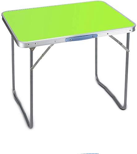 Tabla Escritorio de la computadora de Escritorio y Silla Estudiante Trabajo Tabla Plegable al Aire Libre (Color, Azul) Fácil de organizar (Color, Verde), Rosa (Color : Green)